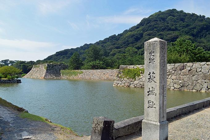画像:萩城跡