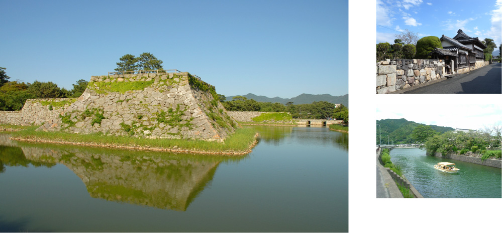 画像:Hagi Castle Ruins Area