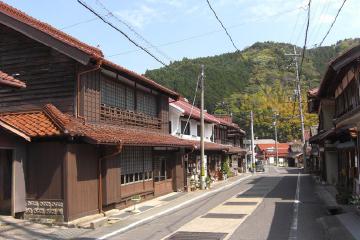 画像:宿場町の町並み