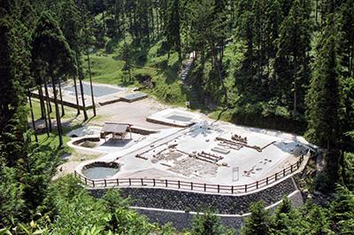 画像:大板山製鉄遺跡
