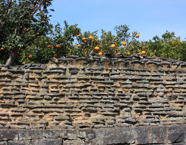 画像:武家屋敷の土塀
