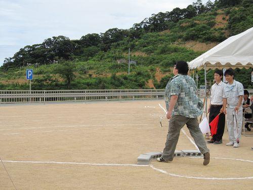 画像:日本一精度の高いびわの種飛ばし大会2020